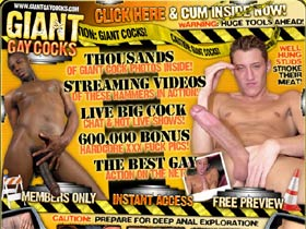 Welcome to Giant Gay Cocks - well hung studs stroke their meat!