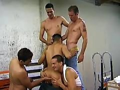 Barely legal boys assfuck and jizz daddy gay porn