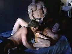 Shy dude gets roughly throat fucked daddy gay porn