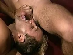 Big cum explosion after sex outdoor daddy gay porn