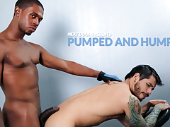 Pumped and Humped daddy gay porn