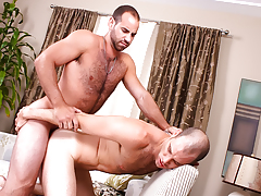 hairy horny hunks with huge cocks butt fuck until they dick water daddy gay porn