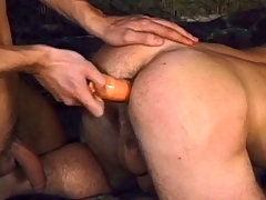 Two sexy soldiers having hot anal sex with cocks and toys daddy gay porn