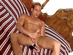 Dude gets throat and asshole fucked daddy gay porn