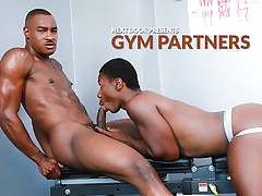 Gym Partners daddy gay porn