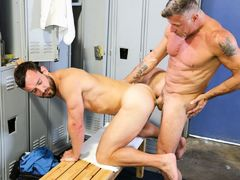 A Locker Room Affair daddy gay porn
