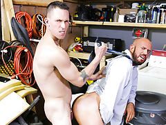 The Janitor's Closet daddy gay porn