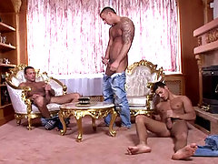 Some spare time for the triplets means masturbation session! daddy gay porn